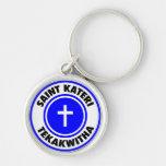 Saint Kateri Tekakwitha Keychain