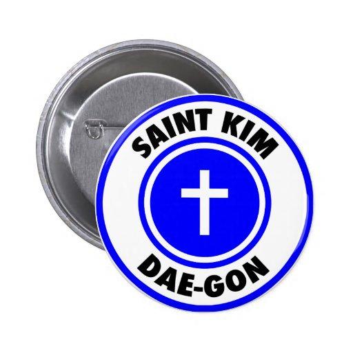 Saint Kim Dae-Gon Button
