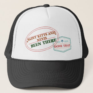 Saint Kitts and Nevis Been There Done That Trucker Hat