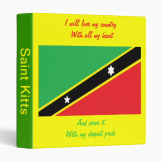 Saint kitts and nevis  binders