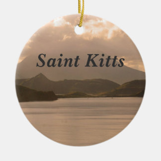 Saint Kitts and Nevis Ceramic Ornament