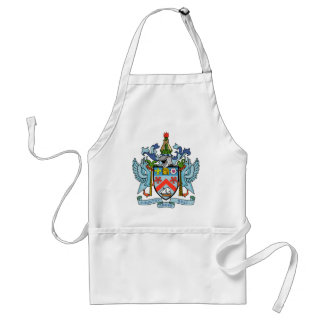 Saint Kitts and Nevis Coat of Arms Adult Apron