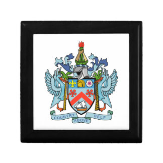 Saint Kitts and Nevis Coat of Arms Gift Box