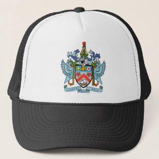 Saint Kitts and Nevis Coat of Arms Trucker Hat