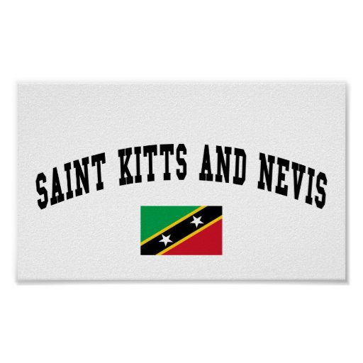 Saint Kitts and Nevis College Style Posters