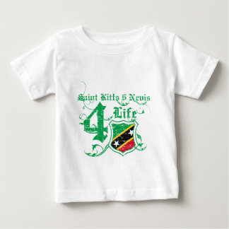 Saint Kitts and Nevis Designs Baby T-Shirt