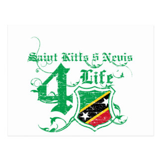 Saint Kitts and Nevis Designs Postcard