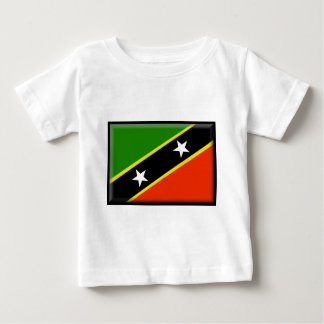 Saint Kitts and Nevis Flag Baby T-Shirt