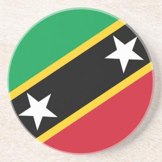 Saint Kitts and Nevis Flag Coaster