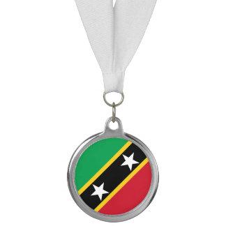 Saint Kitts and Nevis Flag Medal