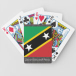 Saint Kitts and Nevis Flag Playing Cards Bicycle Playing Cards