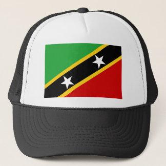 Saint Kitts and Nevis flag Trucker Hat