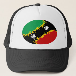 Saint Kitts and Nevis Gnarly Flag Hat