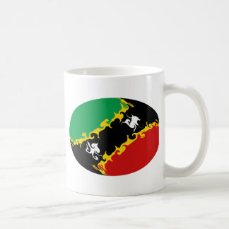 Saint Kitts and Nevis Gnarly Flag Mug