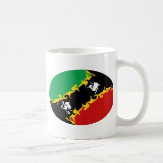 Saint Kitts and Nevis Gnarly Flag Mug