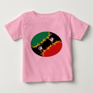 Saint Kitts and Nevis Gnarly Flag T-Shirt