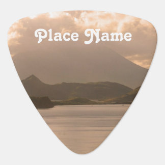 Saint Kitts and Nevis Guitar Pick