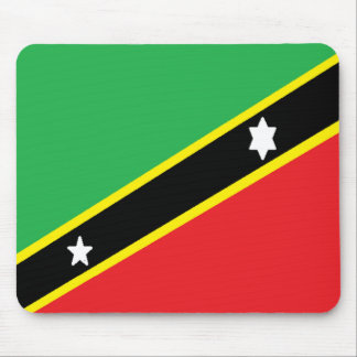 Saint Kitts and Nevis Mouse Pad