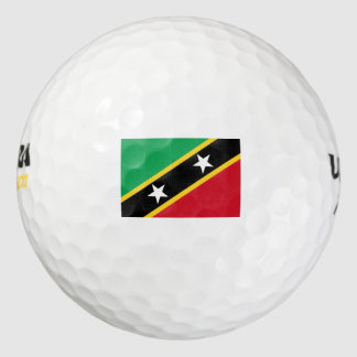 Saint Kitts and Nevis Pack Of Golf Balls