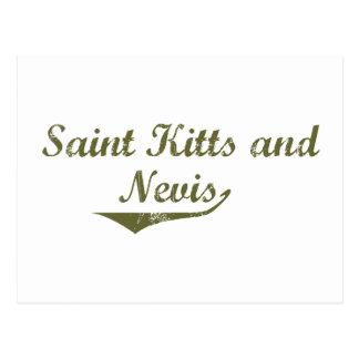 Saint Kitts and Nevis Revolution Style Postcard