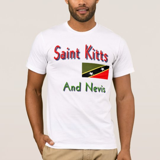 saint kitts and nevis t-shirts