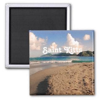 Saint Kitts Beach Magnets