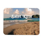 Saint Kitts Beach Vinyl Magnets
