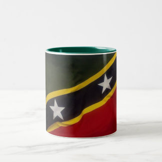 Saint Kitts -Mug- Two-Tone Coffee Mug