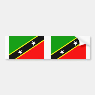 Saint Kitts & Nevis Bumper Sticker