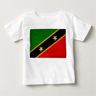 Saint Kitts Nevis Flag Baby T-Shirt