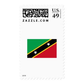 Saint Kitts & Nevis FLAG International Postage