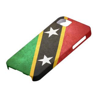 Saint Kitts / Nevis Flag iPhone SE/5/5s Case