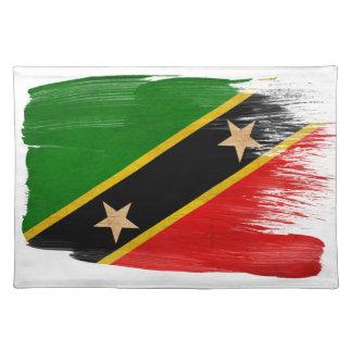 Saint Kitts Nevis Flag Placemat