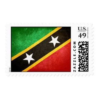 Saint Kitts / Nevis Flag Postage
