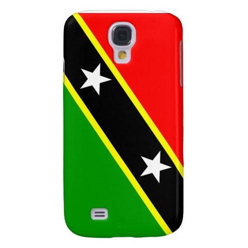 Saint Kitts Nevis Flag Samsung Galaxy S4 Cover