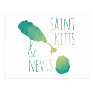 Saint Kitts & Nevis Postcard