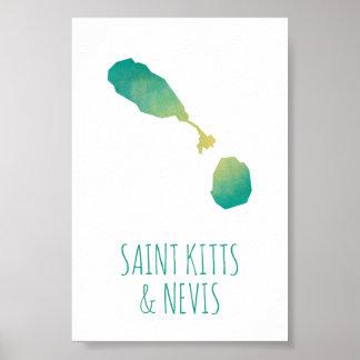 Saint Kitts & Nevis Poster