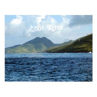 Saint Kitts Views Postcard