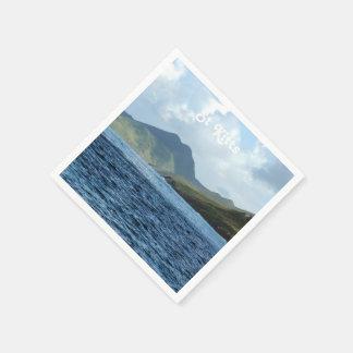 Saint Kitts Views Paper Napkin
