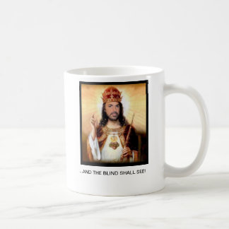 SAINT LANZA ...AND THE BLIND SHALL SEE Mug