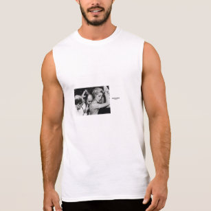 f07da190 Saint laurent movie poster sleeveless shirt