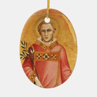 Saint Lawrence Ceramic Ornament
