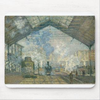 Saint-Lazare Station (1877) Mouse Pad