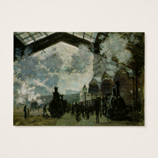 Saint Lazare Station by Claude Monet Business Card