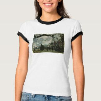 Saint Lazare Station by Claude Monet T-Shirt