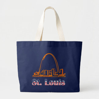 Saint Louis Arch Tote Bags