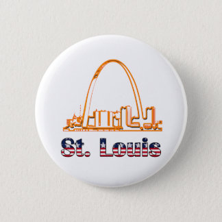 Saint Louis Arch Button