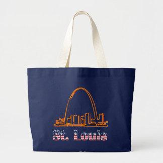 Saint Louis Arch Large Tote Bag