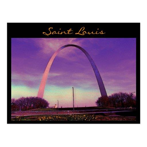 Saint Louis Arch Postcard