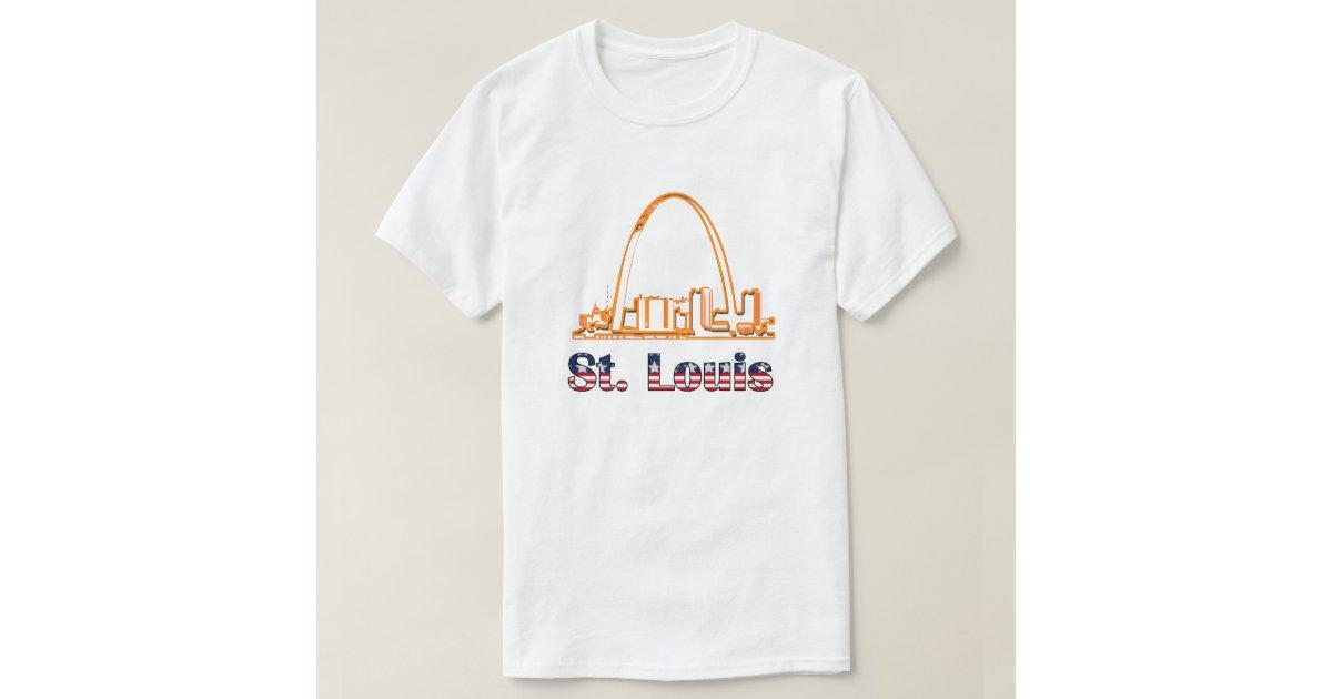 Saint louis arch t shirt zazzle for St louis t shirt printing